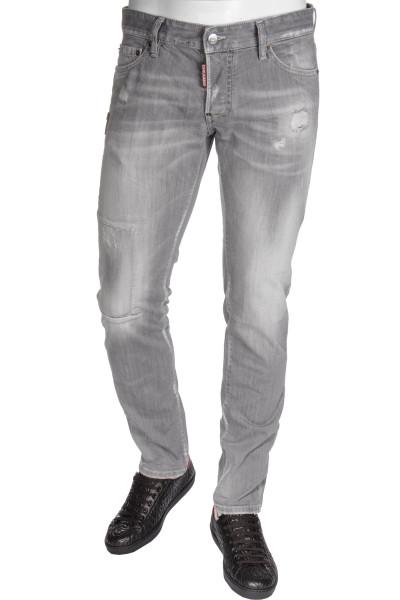 DSQUARED2 Jeans Slim Grey Denim Wash
