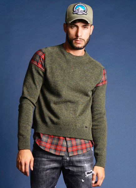 DSQUARED2 Wool Sweater Shirt Details