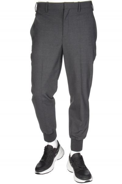 NEIL BARRETT Cuffed Wool Pants