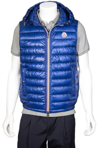 MONCLER Hooded Down Vest Balmat