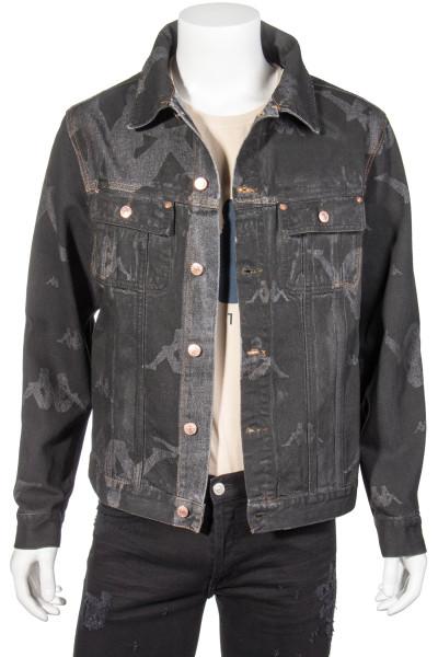 DANILO PAURA x Kappa Denim Jacket All Over Print