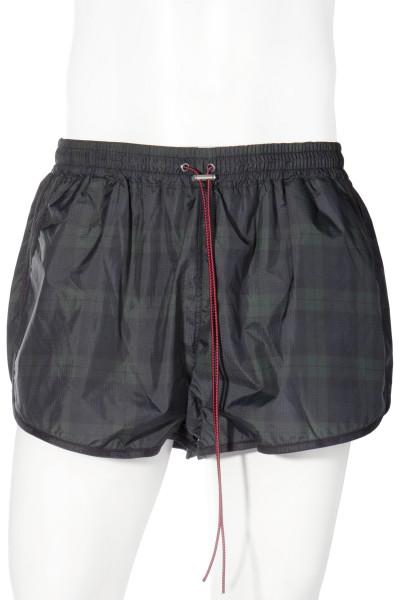 REPRESENT Swim Shorts Dark Check
