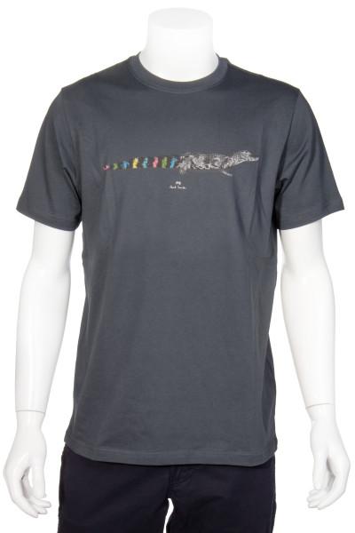 PAUL SMITH Aligator Printed TShirt