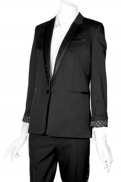 THE KOOPLES Blazer Lace Details