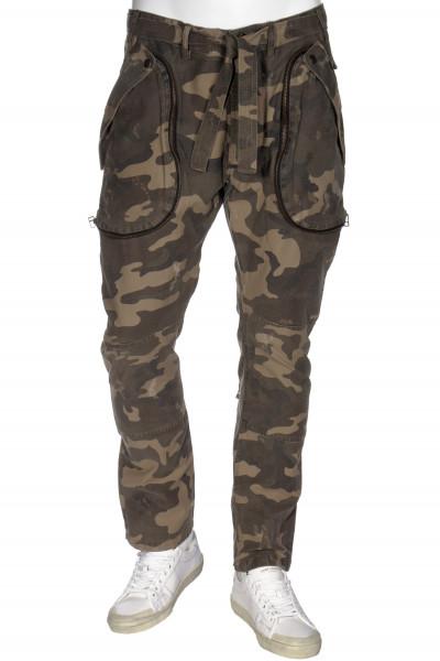 FAITH CONNEXION Camouflage Cargo Pants Slim
