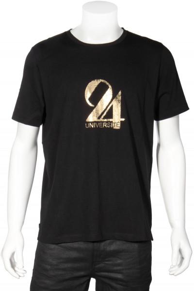 SAINT LAURENT T-Shirt Metallic 24 Print