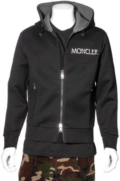 MONCLER Logo Zip-Hoodie