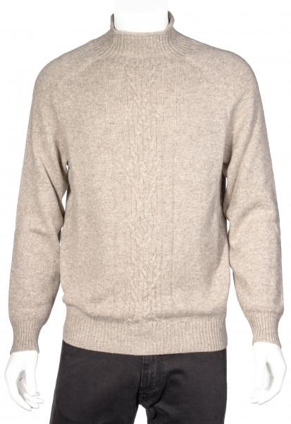 LORO PIANA Turtle Neck Cashmere Knit Sweater