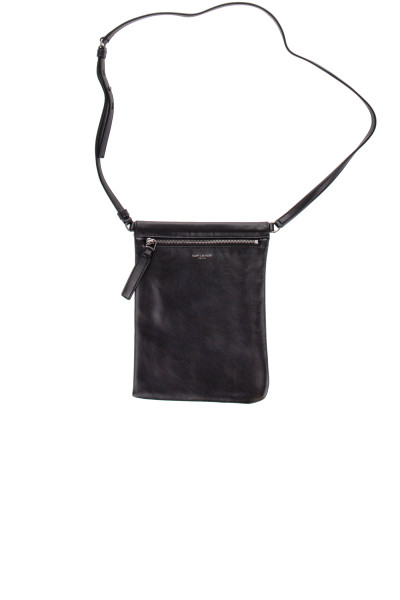 SAINT LAURENT Sid Flat Crossbody Bag