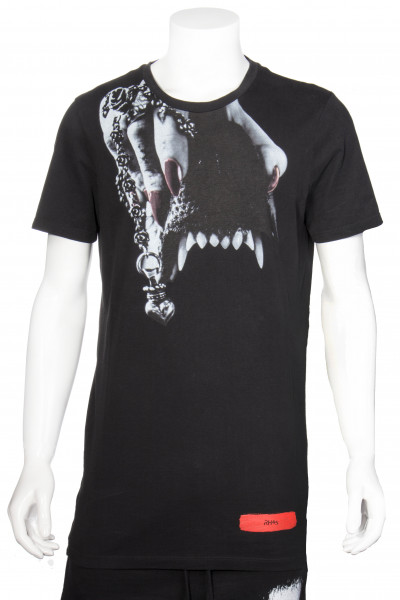 RH45 Oversized T-Shirt Canines Print