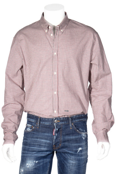 DSQUARED2 Cotton Shirt Checked