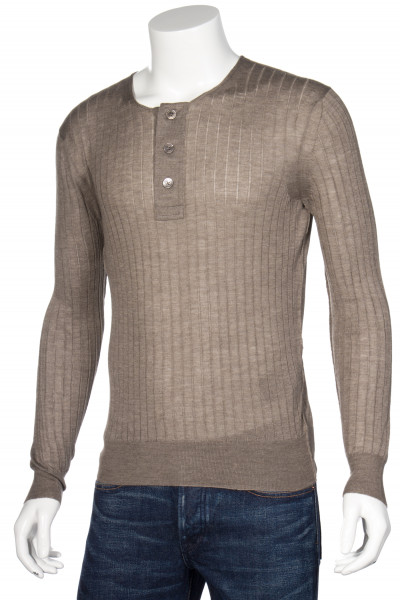 TOM FORD Cashmere Blend Sweater Ribbed