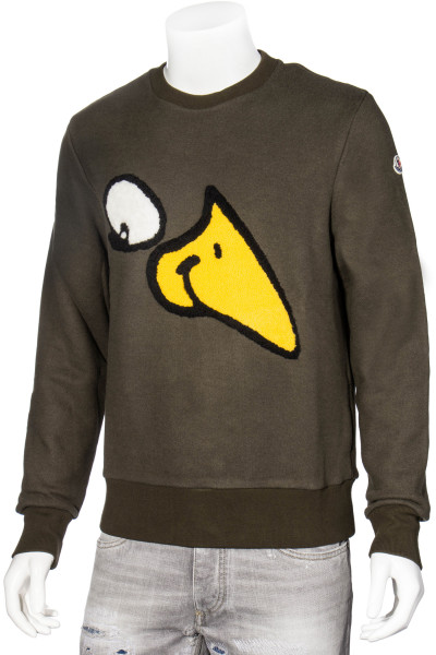 MONCLER Sweater Goose Patch