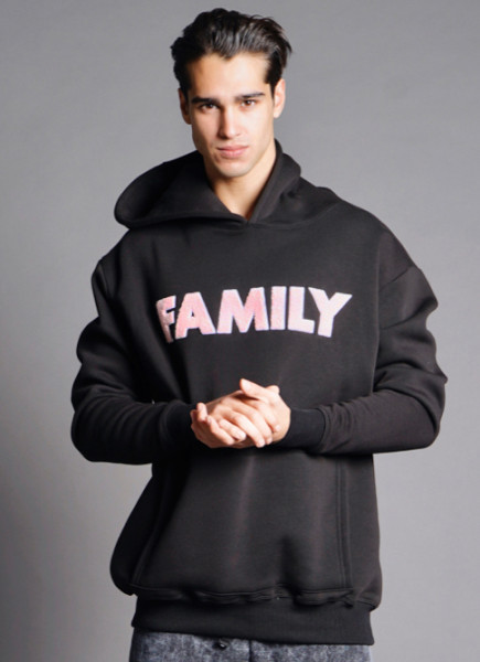 FAMILY FIRST Hoodie Family Patch