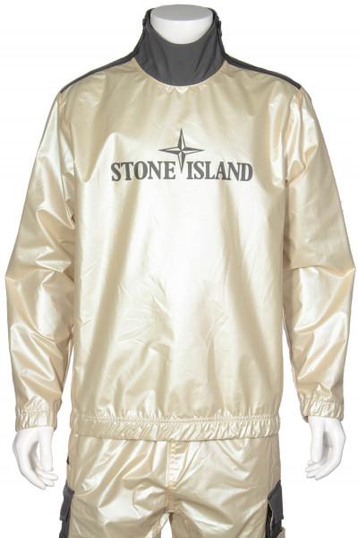 STONE ISLAND Iridescent Coating Tela With Reflex Mat Sports Jacket