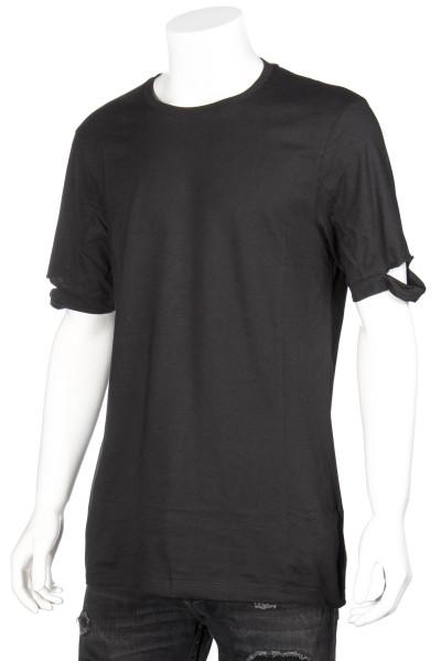 HELMUT LANG T-Shirt Standard Fit Cut Hem