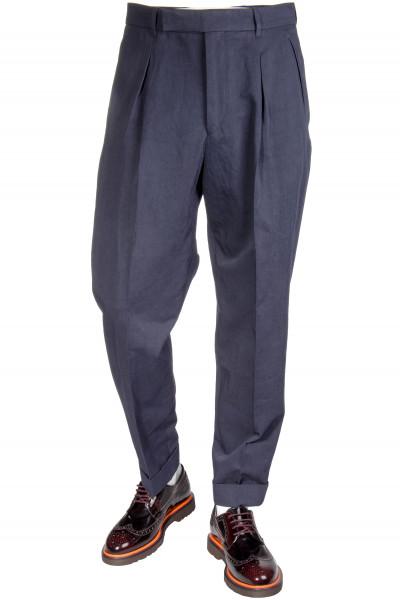 Paul Smith Pants Cotton-Linen Mix