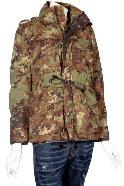 DSQUARED2 Camouflage Field Jacket