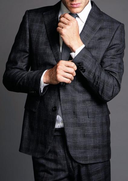 ERMENEGILDO ZEGNA Suit Checked