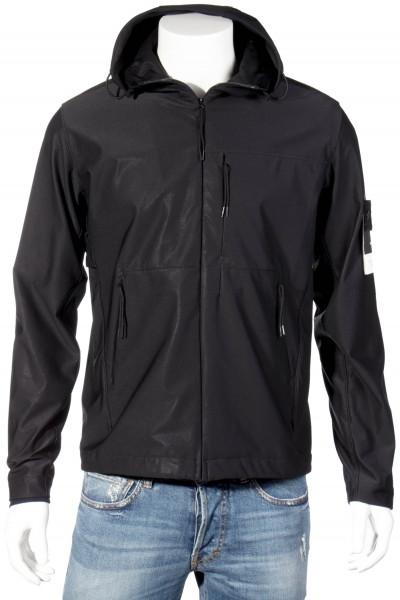 STONE ISLAND Ghost Piece Hooded Fleece Jacket