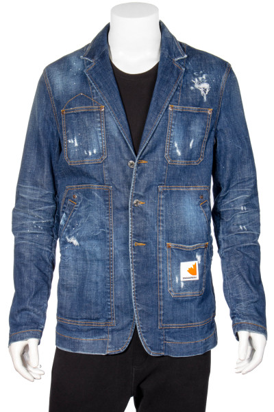 DSQUARED2 Denim Blazer Jacket