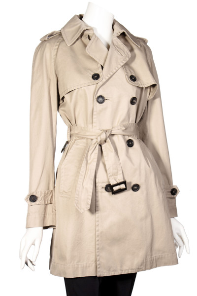 DSQUARED2 Double Breasted Trench Coat