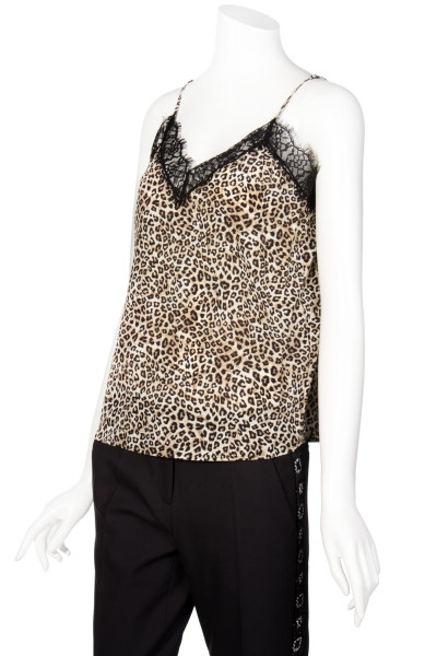 THE KOOPLES Top Animal Print