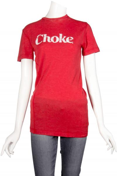 DSQUARED2 Wool T-Shirt Printed Choke