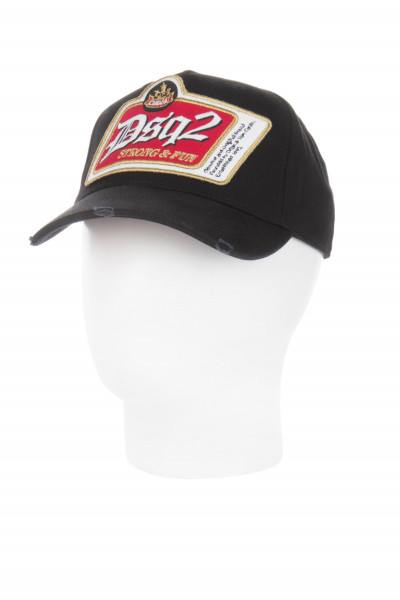 DSQUARED2 Embroidered DSQ2 Logo Patch Cap