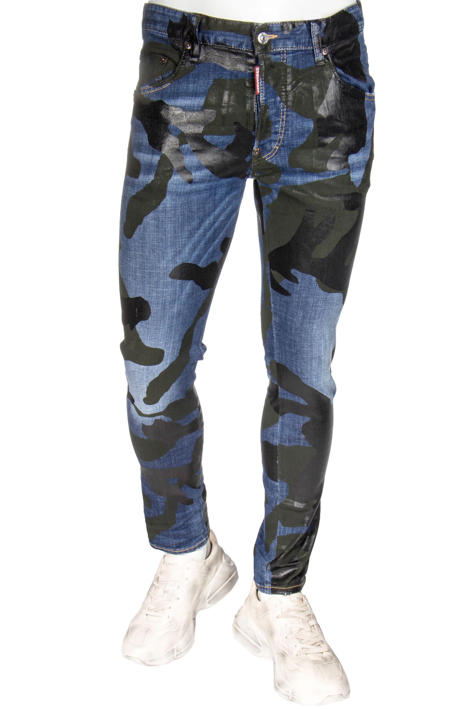 5a108104 DSQUARED2 Skater Jeans Camouflage Wash | Jeans | Clothing | Men ...