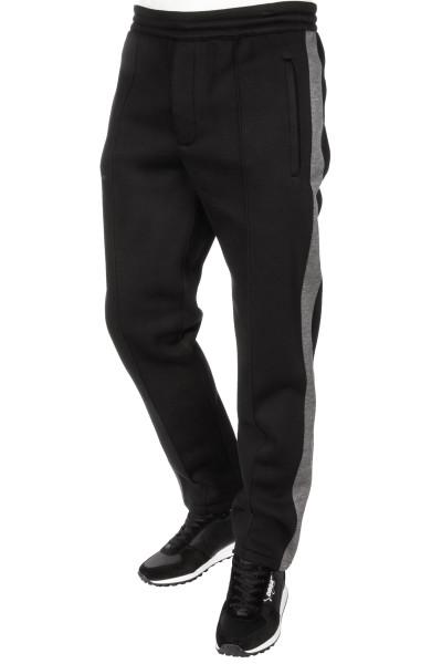 HELMUT LANG Sweatpants Grey Stripe