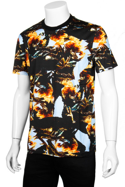 GIVENCHY T-Shirt Abstract Floral All Over Print