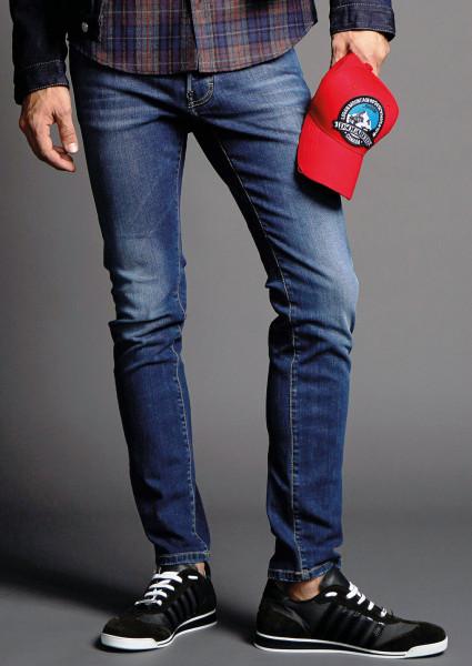 DSQUARED2 Slim Jeans Plain