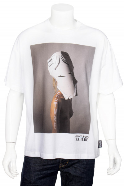 VERSACE JEANS COUTURE Capsule T-Shirt Masked Woman Print