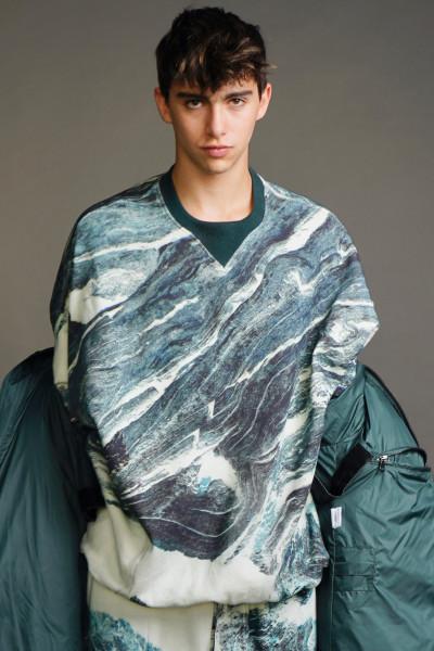KATHARINE HAMNETT Printed Sweatshirt Marble