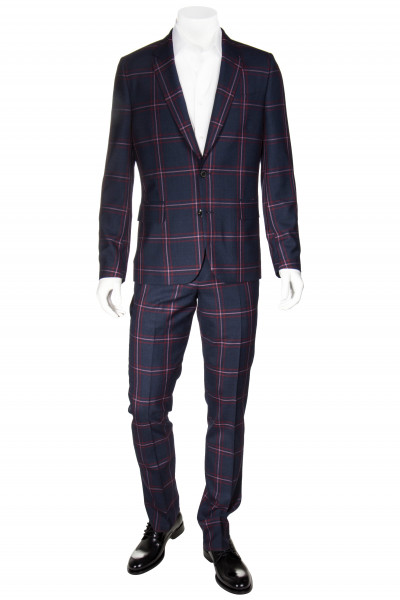 PAUL SMITH Suit Checked Soho Fit