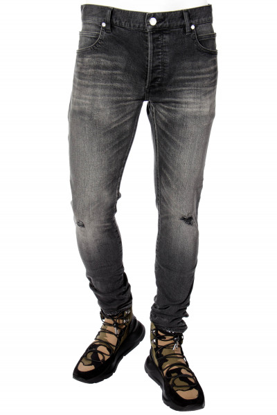 BALMAIN Jeans Slim Fit Distressed