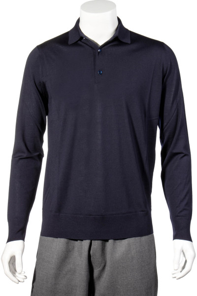 LORO PIANA Cashmere Knit Polo Shirt