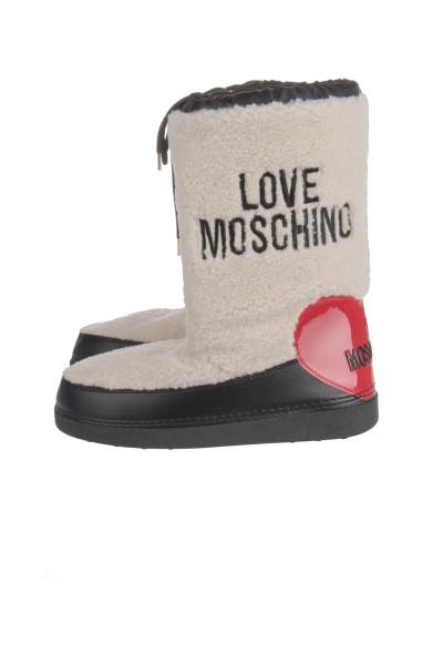 LOVE MOSCHINO Snowboot Heart