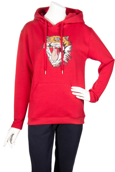 ROQA Hoodie Tiger Embroidery
