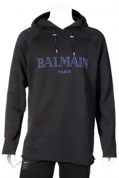BALMAIN Hooded Logo Sweatshirt
