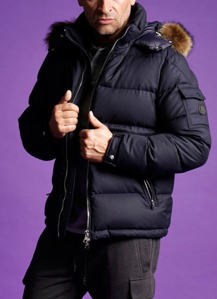 MONCLER Hooded Down Jacket Allemand