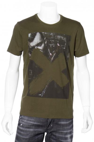 RH-45 T-Shirt Printed Men With Snake