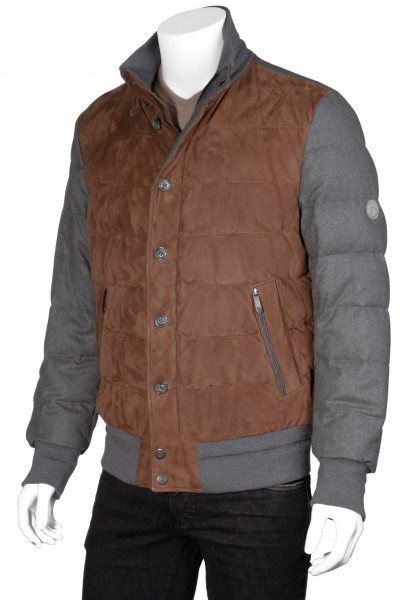 SCHNEIDERS Leather Down Bomber