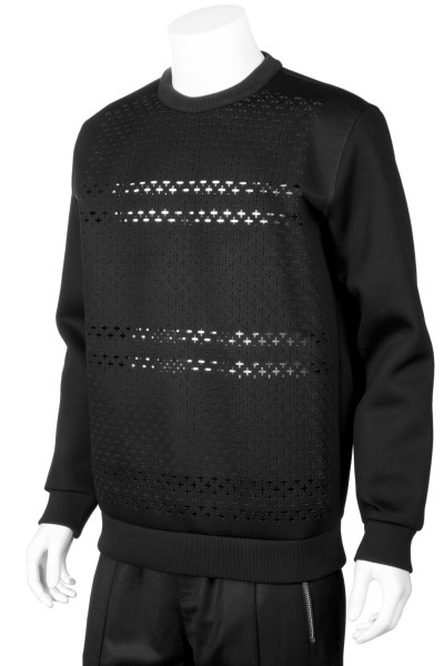 GIVENCHY Sweatshirt Cut Out Details