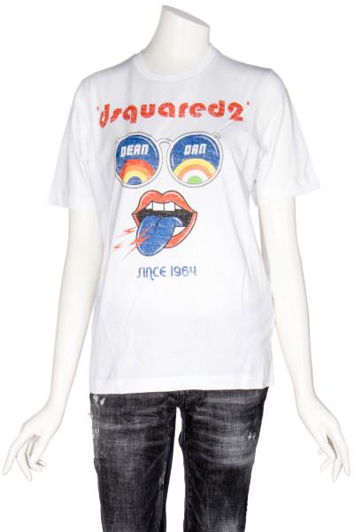 DSQUARED Printed Logo T-Shirt