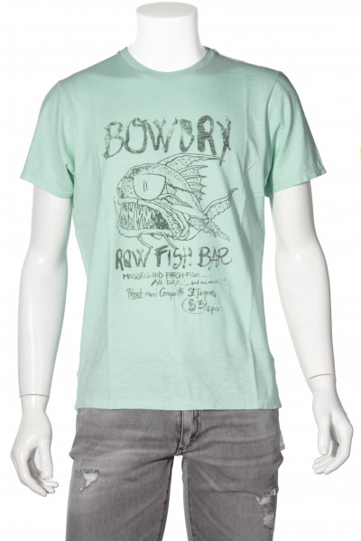 BOWERY Printed T-Shirt Cabbage