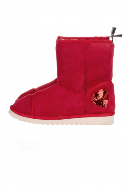 LOVE MOSCHINO Sequin Heart Boots