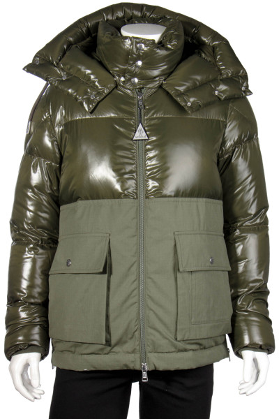 MONCLER Hooded Down Jacket Montriond