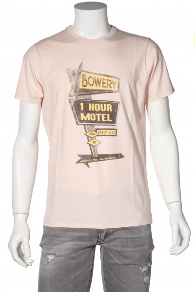 BOWERY Printed T-Shirt Tropical Peach